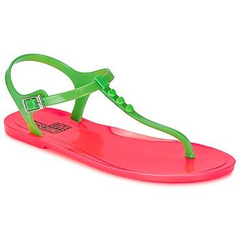 Sko Dame Sandaler Love Moschino JA16381G0KJN180A Grøn / Pink