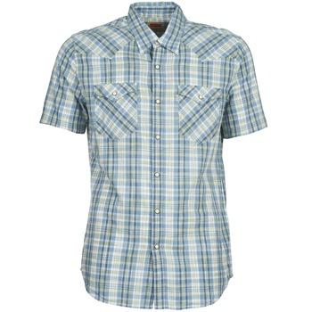 textil Herre Skjorter m. korte ærmer Levi's WOVENS Blå