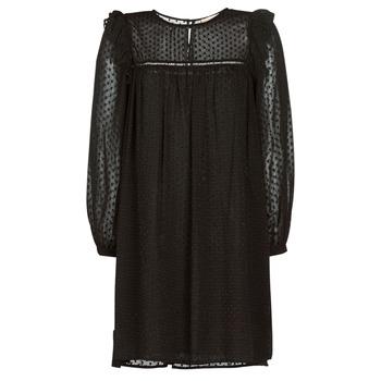 textil Dame Korte kjoler Moony Mood BREYAT Sort