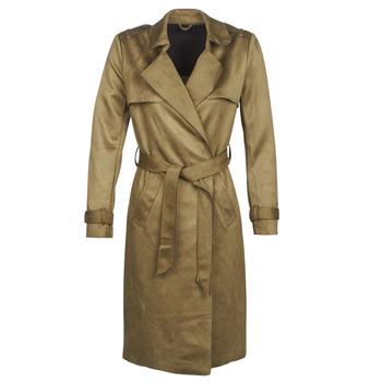 textil Dame Trenchcoats Only ONLRIBA Kaki