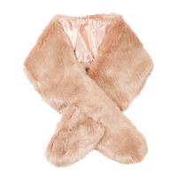 Accessories Dame Halstørklæder André CARIBOU Pink