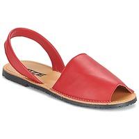 Sko Dame Sandaler So Size LOJA Rød