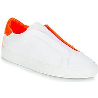 Sko Dame Lave sneakers KLOM KISS Hvid / Orange