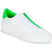 Sko Dame Lave sneakers KLOM KISS Hvid / Grøn