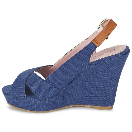 Moony Mood AKOLM Marineblå - Gratis fragt- Sko sandaler Dame 209,00
