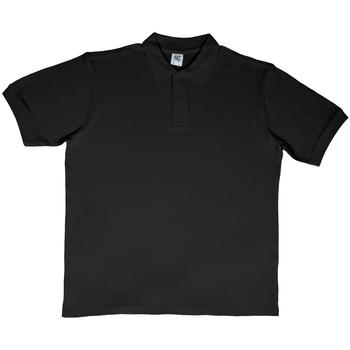 textil Herre Polo-t-shirts m. korte ærmer Sg SG50 Black