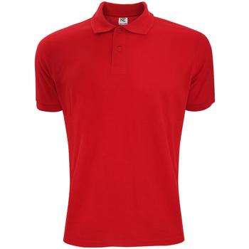 textil Herre Polo-t-shirts m. korte ærmer Sg Polycotton Red