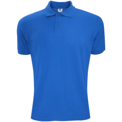 textil Herre Polo-t-shirts m. korte ærmer Sg Polycotton Royal