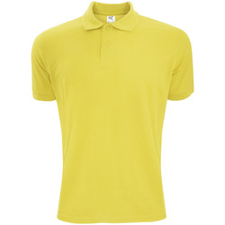 textil Herre Polo-t-shirts m. korte ærmer Sg Polycotton Yellow