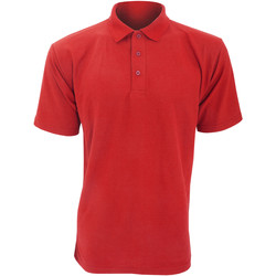 textil Herre Polo-t-shirts m. korte ærmer Ultimate Clothing Collection UCC003 Red