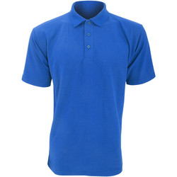 textil Herre Polo-t-shirts m. korte ærmer Ultimate Clothing Collection UCC003 Royal