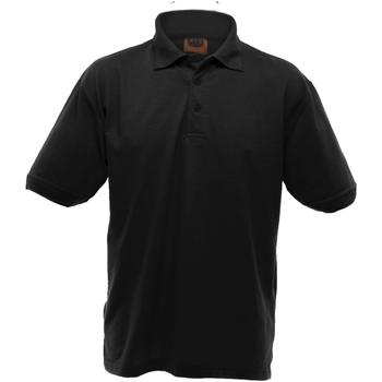 textil Herre Polo-t-shirts m. korte ærmer Ultimate Clothing Collection UCC004 Black