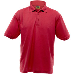 textil Herre Polo-t-shirts m. korte ærmer Ultimate Clothing Collection UCC004 Red