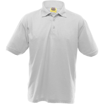 textil Herre Polo-t-shirts m. korte ærmer Ultimate Clothing Collection UCC004 White