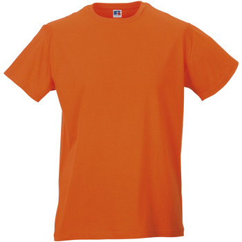 textil Herre T-shirts m. korte ærmer Russell R155M Orange