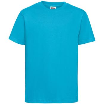 textil Herre T-shirts m. korte ærmer Russell R155M Turquoise