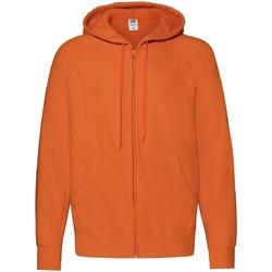 textil Herre Sweatshirts Fruit Of The Loom 62144 Orange