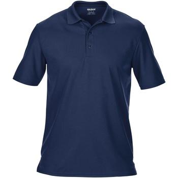 textil Herre Polo-t-shirts m. korte ærmer Gildan 43800 Navy