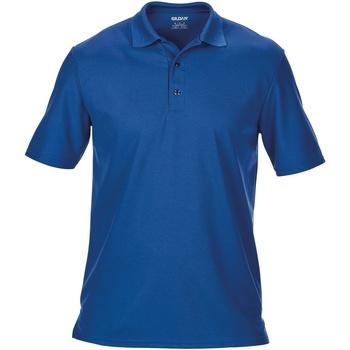 textil Herre Polo-t-shirts m. korte ærmer Gildan 43800 Royal