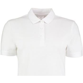 textil Dame Polo-t-shirts m. korte ærmer Kustom Kit KK213 White