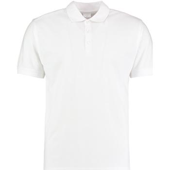 textil Herre Polo-t-shirts m. korte ærmer Kustom Kit KK413 White