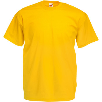 textil Herre T-shirts m. korte ærmer Fruit Of The Loom 61036 Sunflower