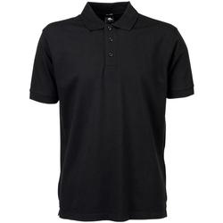 textil Herre Polo-t-shirts m. korte ærmer Tee Jays TJ1405 Black