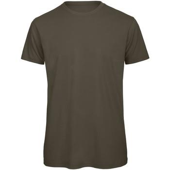 textil Herre T-shirts m. korte ærmer B And C TM042 Khaki