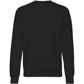 textil Herre Sweatshirts Fruit Of The Loom 62202 Black