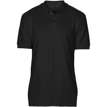 textil Herre Polo-t-shirts m. korte ærmer Gildan 64800 Black