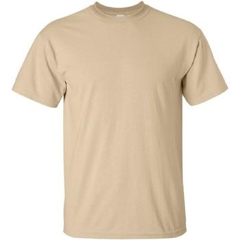 textil Herre T-shirts m. korte ærmer Gildan Ultra Tan