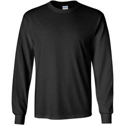 textil Herre Langærmede T-shirts Gildan 2400 Black