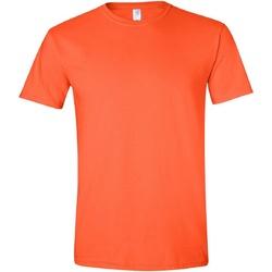 textil Herre T-shirts m. korte ærmer Gildan Soft-Style Orange
