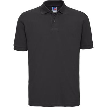 textil Herre Polo-t-shirts m. korte ærmer Russell 569M Black
