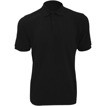 textil Herre Polo-t-shirts m. korte ærmer Russell Ripple Black