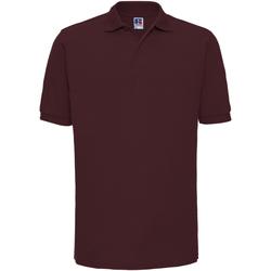 textil Herre Polo-t-shirts m. korte ærmer Russell Ripple Burgundy
