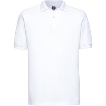 textil Herre Polo-t-shirts m. korte ærmer Russell Ripple White