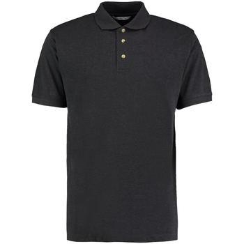 textil Herre Polo-t-shirts m. korte ærmer Kustom Kit KK400 Charcoal