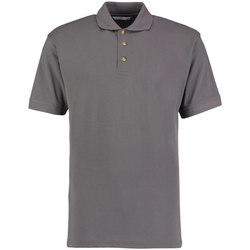 textil Herre Polo-t-shirts m. korte ærmer Kustom Kit KK400 Graphite