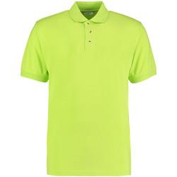 textil Herre Polo-t-shirts m. korte ærmer Kustom Kit KK400 Lime