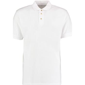 textil Herre Polo-t-shirts m. korte ærmer Kustom Kit KK400 White