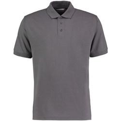 textil Herre Polo-t-shirts m. korte ærmer Kustom Kit KK403 Charcoal