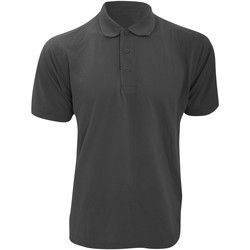 textil Herre Polo-t-shirts m. korte ærmer Kustom Kit KK403 Graphite