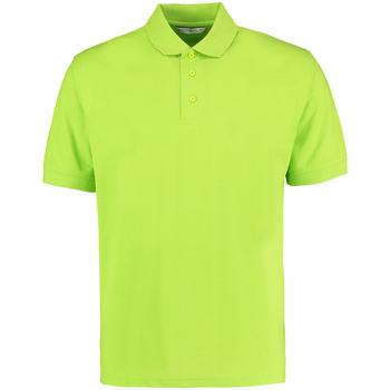 textil Herre Polo-t-shirts m. korte ærmer Kustom Kit KK403 Lime