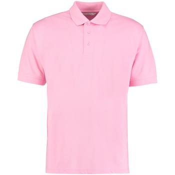 textil Herre Polo-t-shirts m. korte ærmer Kustom Kit KK403 Pink