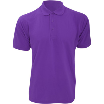 textil Herre Polo-t-shirts m. korte ærmer Kustom Kit KK403 Purple
