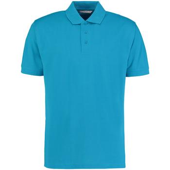 textil Herre Polo-t-shirts m. korte ærmer Kustom Kit KK403 Turquoise
