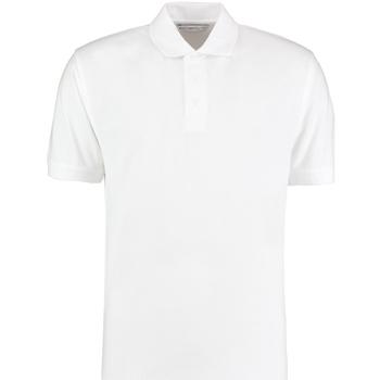 textil Herre Polo-t-shirts m. korte ærmer Kustom Kit KK403 White