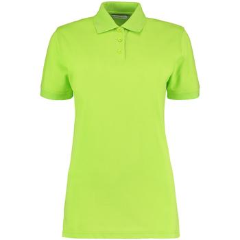 textil Dame Polo-t-shirts m. korte ærmer Kustom Kit Klassic Lime