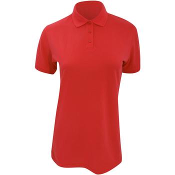 textil Dame Polo-t-shirts m. korte ærmer Kustom Kit Klassic Red